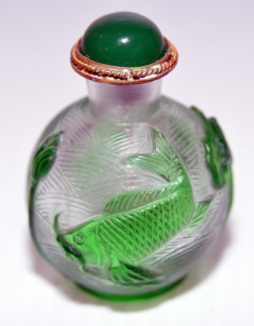 Peking glass snuff bottles - 3