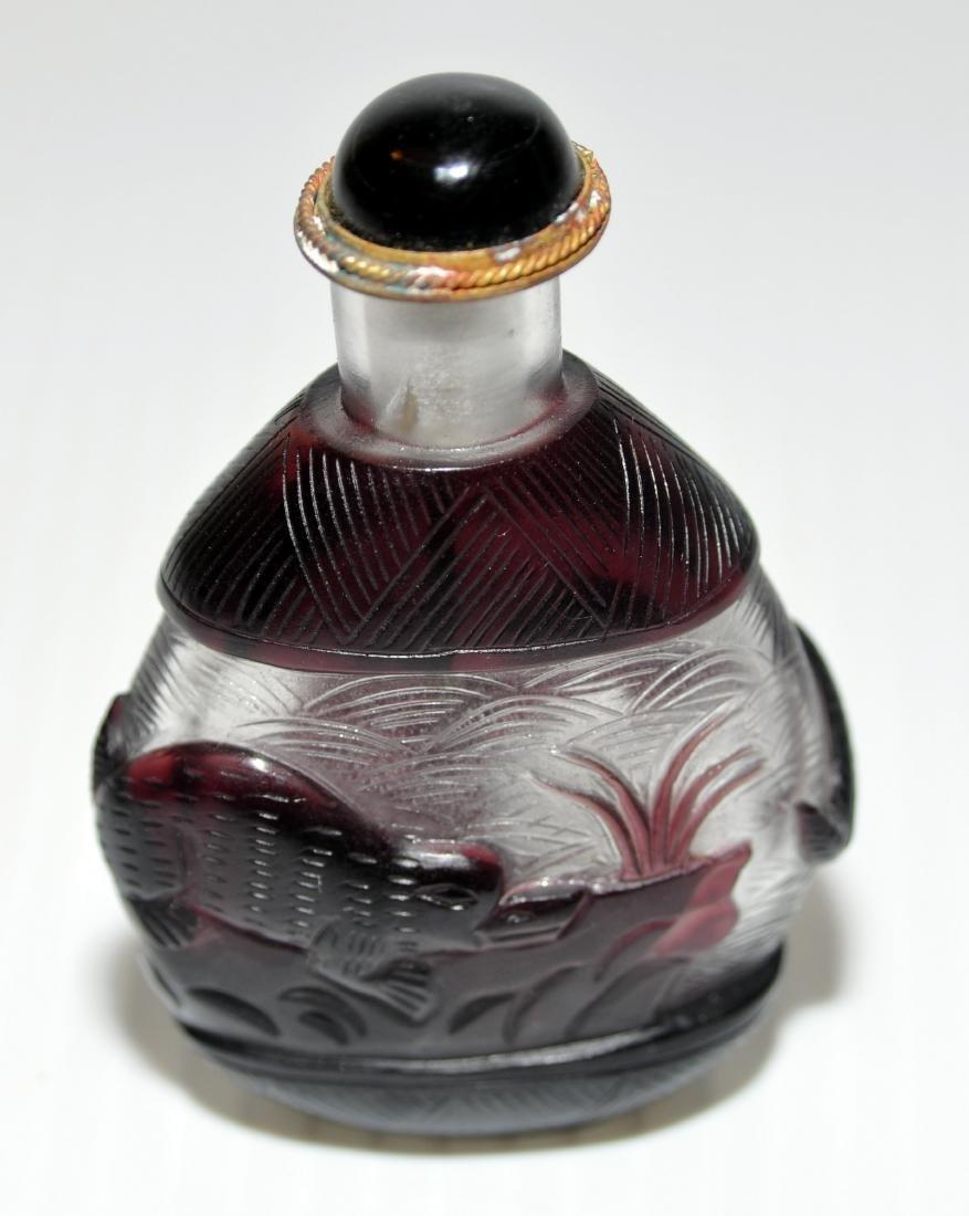 Peking glass snuff bottles - 4