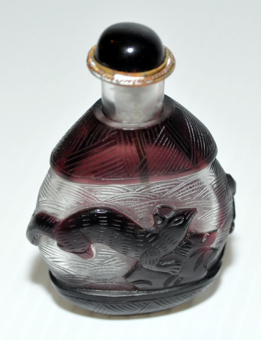 Peking glass snuff bottles - 5