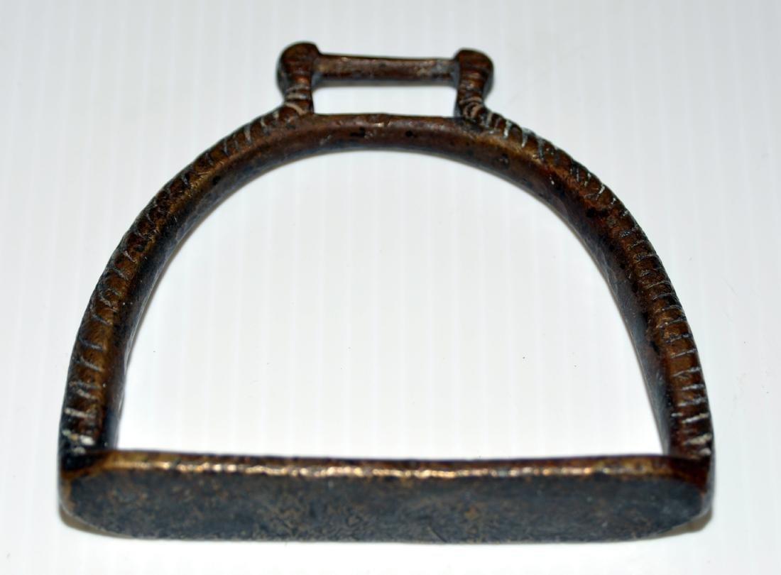 Brass stirrup Spanish Colonial