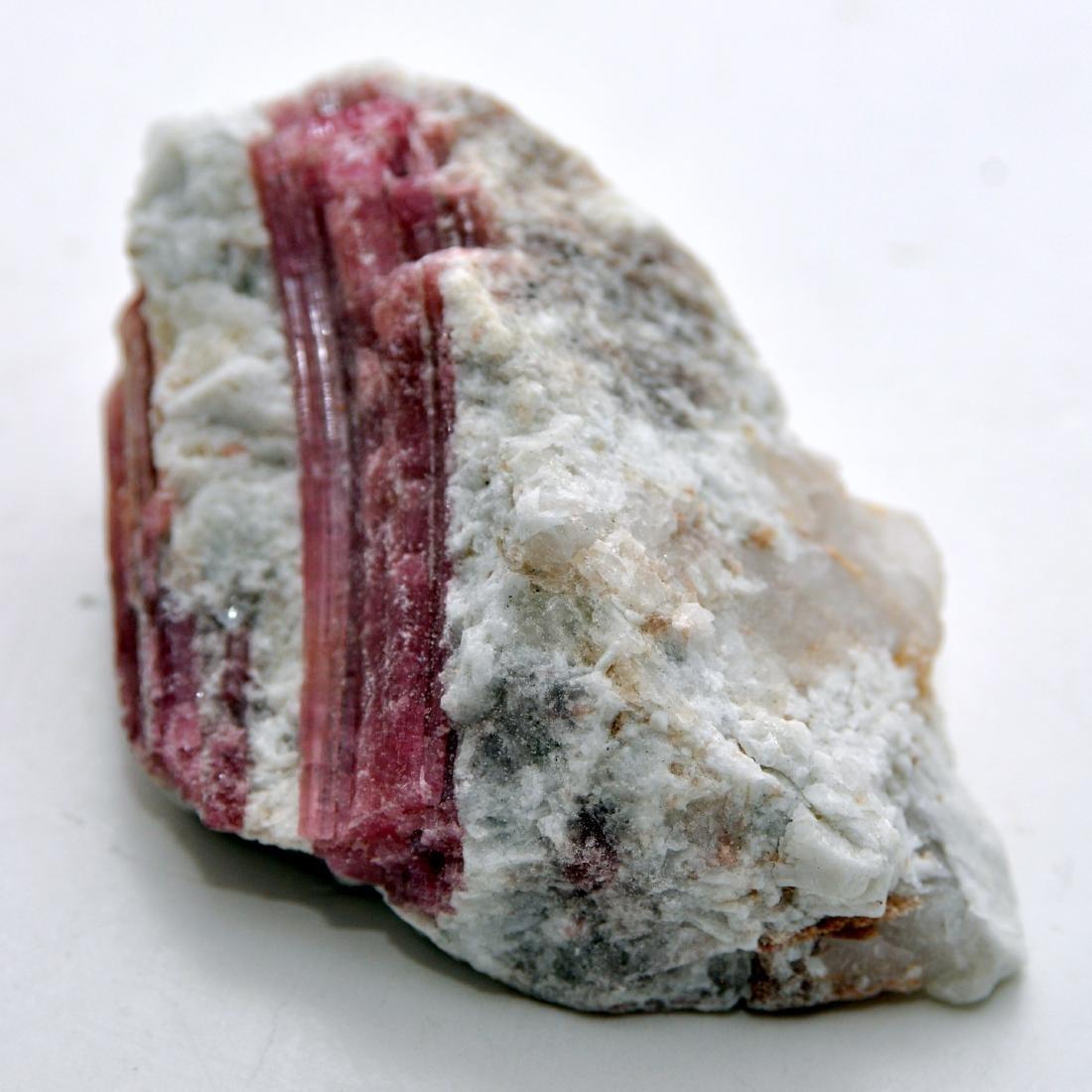 Pink tourmaline mineral specimen - 2
