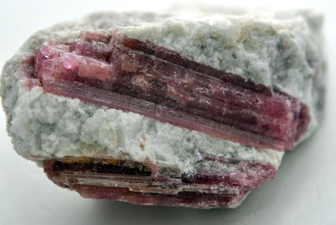 Pink tourmaline mineral specimen - 3