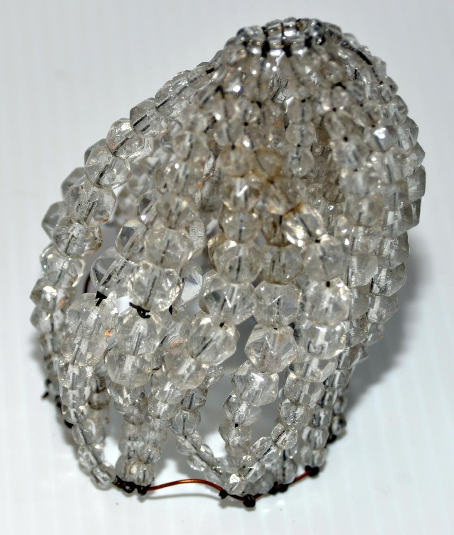 Czeck crystal bulb cover