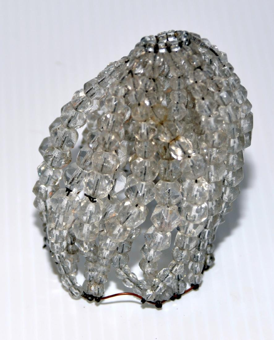 Czeck crystal bulb cover - 2