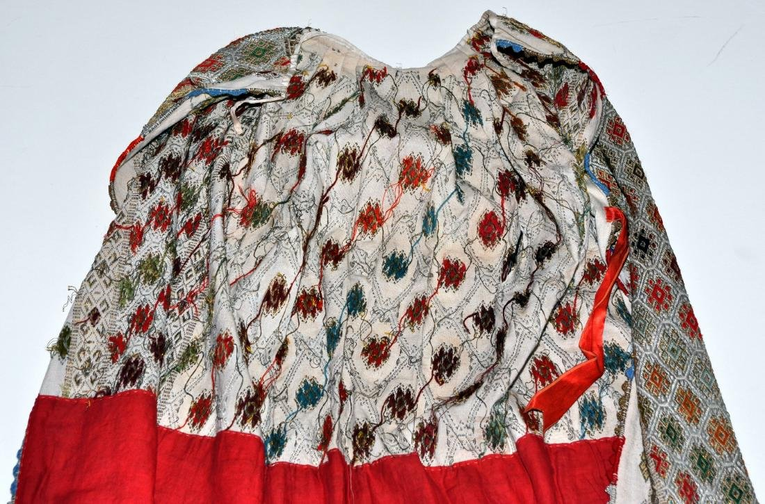 Hungarian ceremonial apron skirt vintage - 10
