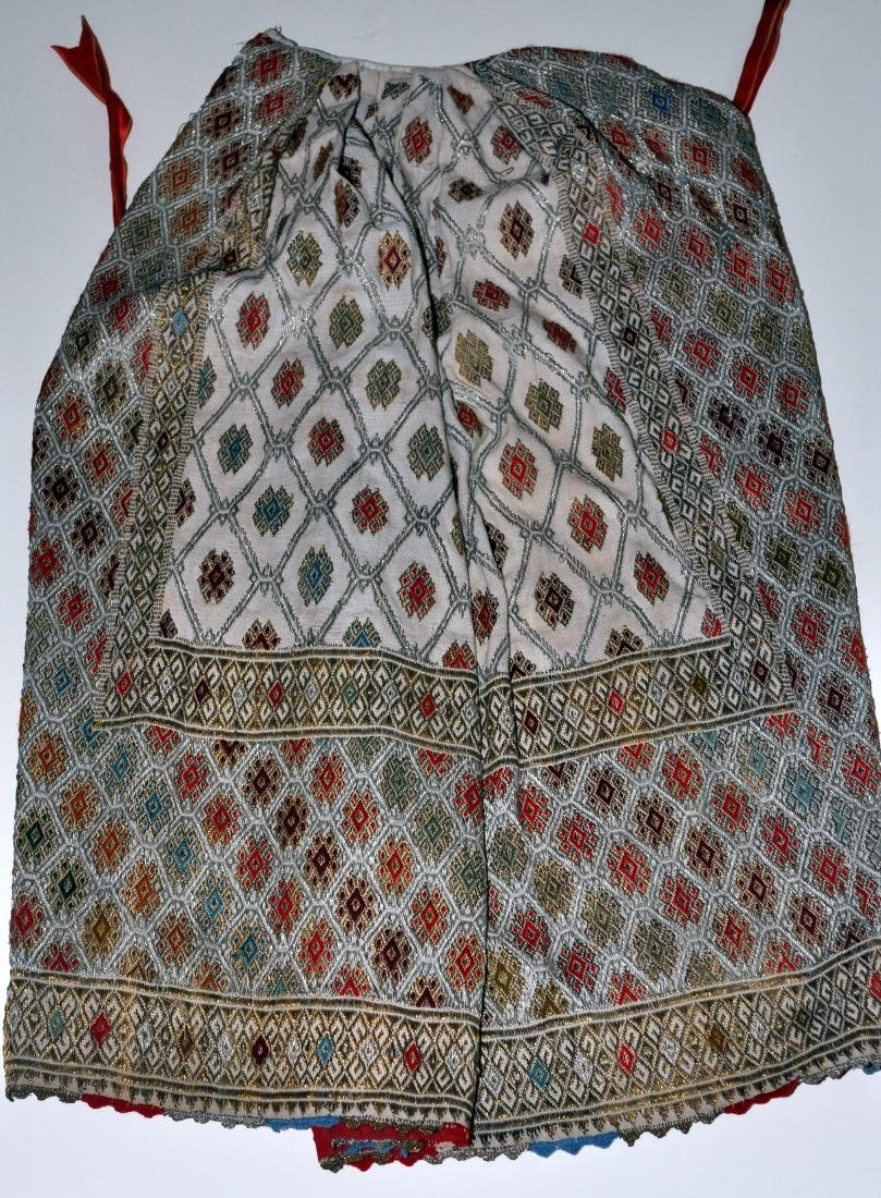 Hungarian ceremonial apron skirt vintage