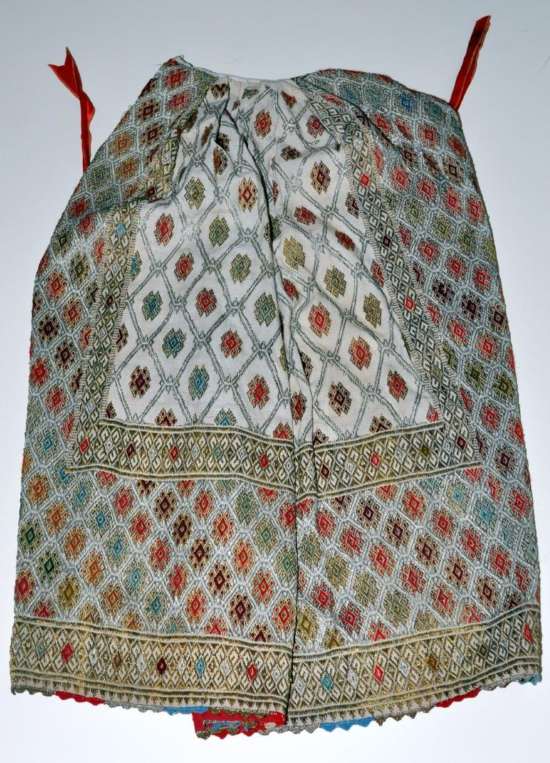 Hungarian ceremonial apron skirt vintage - 2