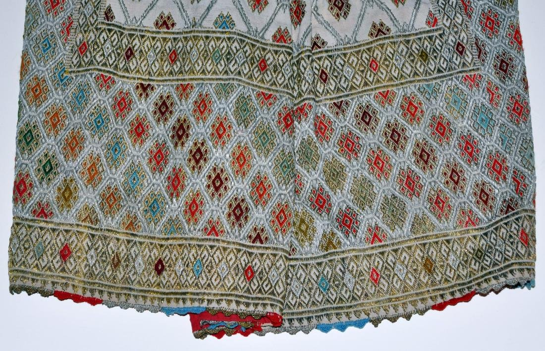 Hungarian ceremonial apron skirt vintage - 3
