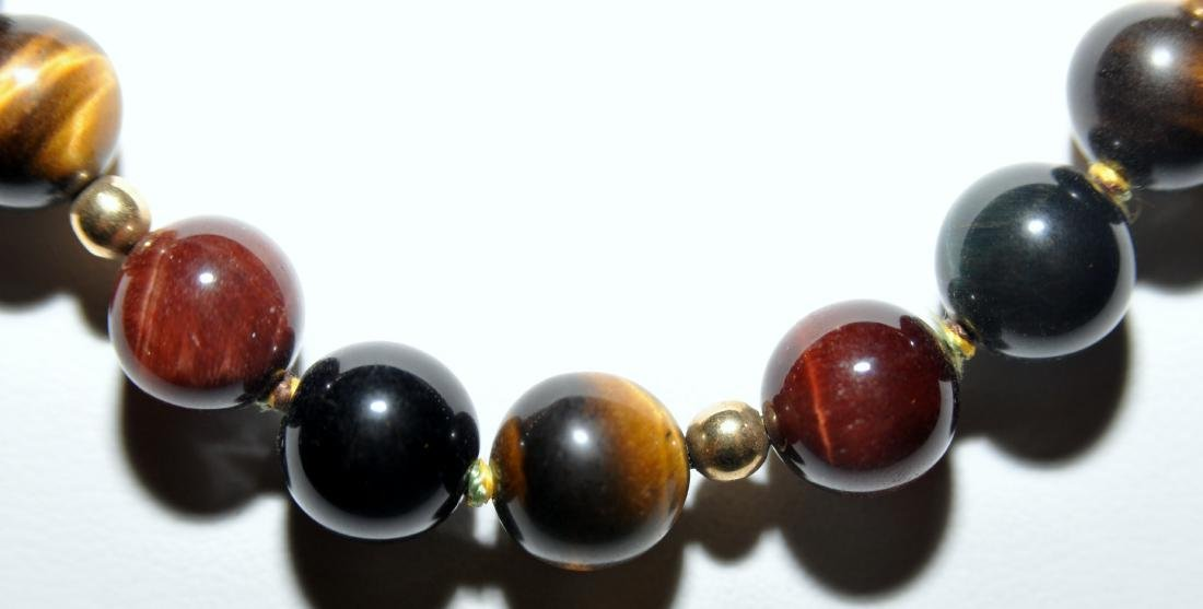 Agate large sphere beads - 3