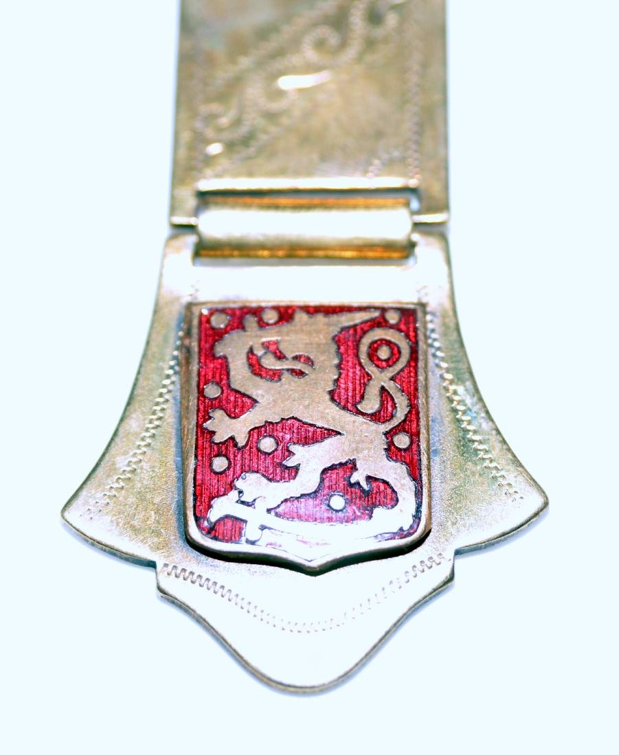 Pin watch fob Victorian lion - 2