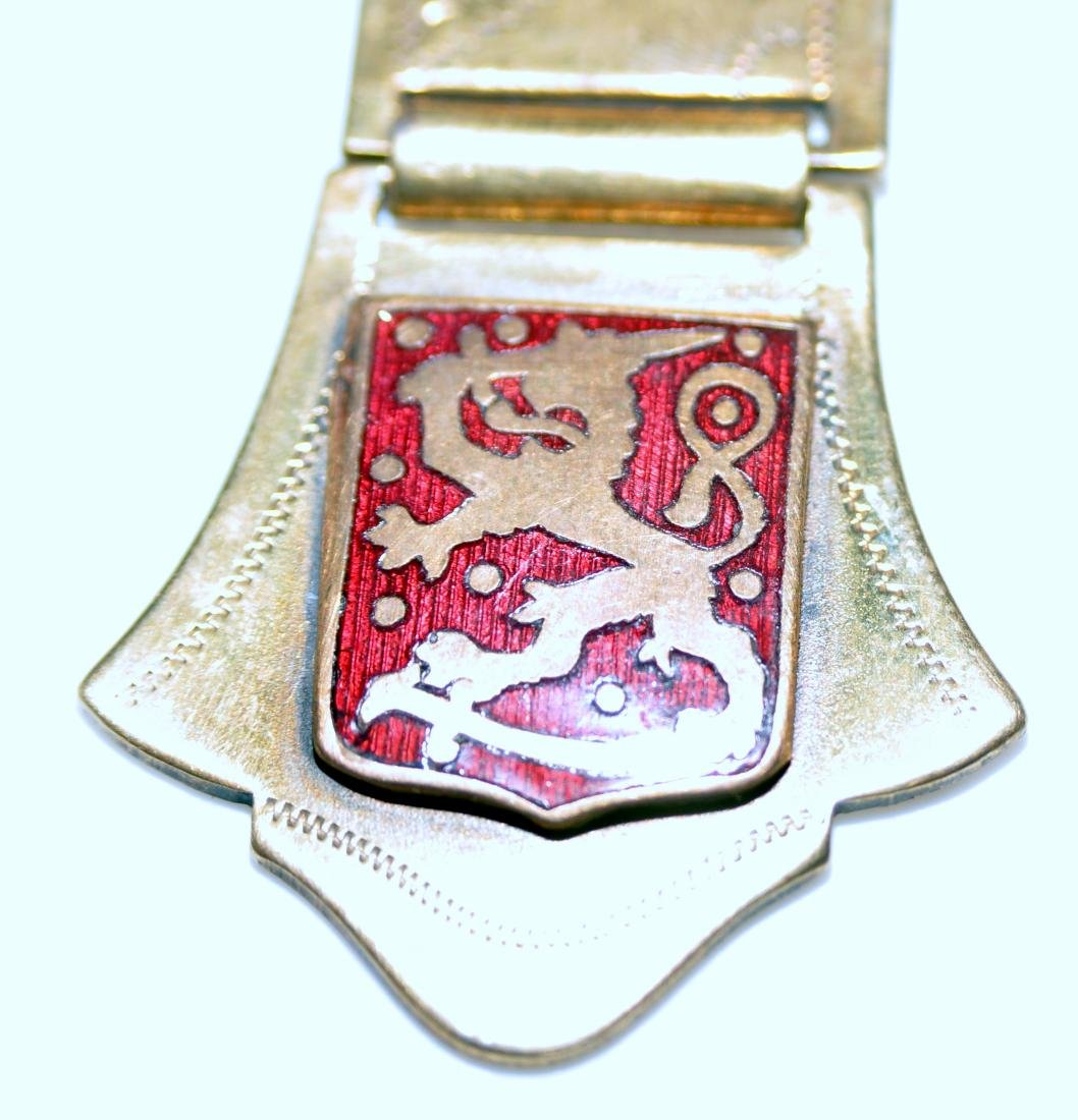 Pin watch fob Victorian lion - 4