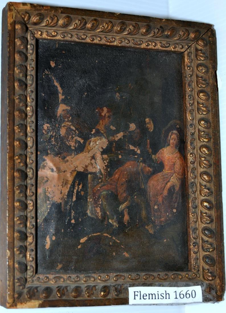 Flemish oil copper 1660
