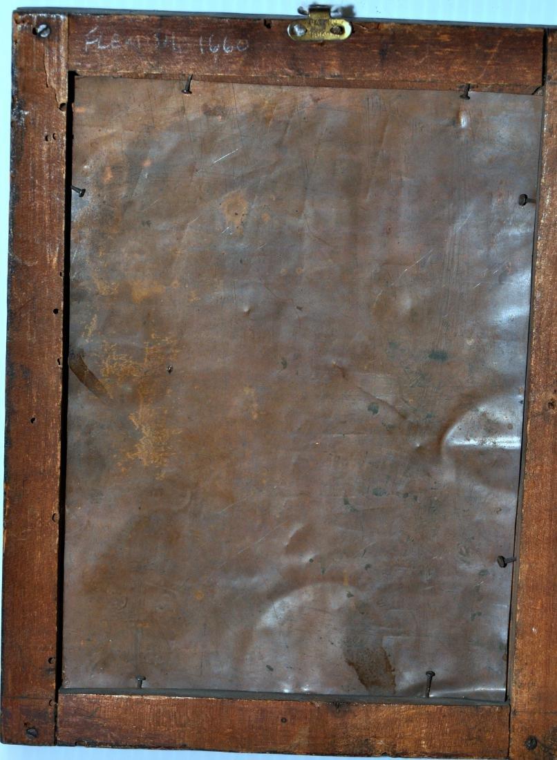 Flemish oil copper 1660 - 6
