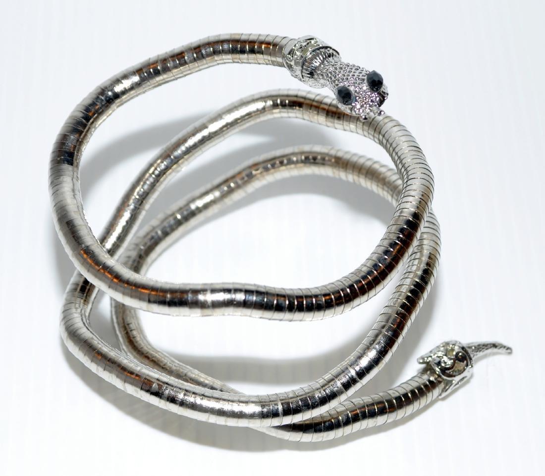 Bracelet necklace snake head jewelry - 2