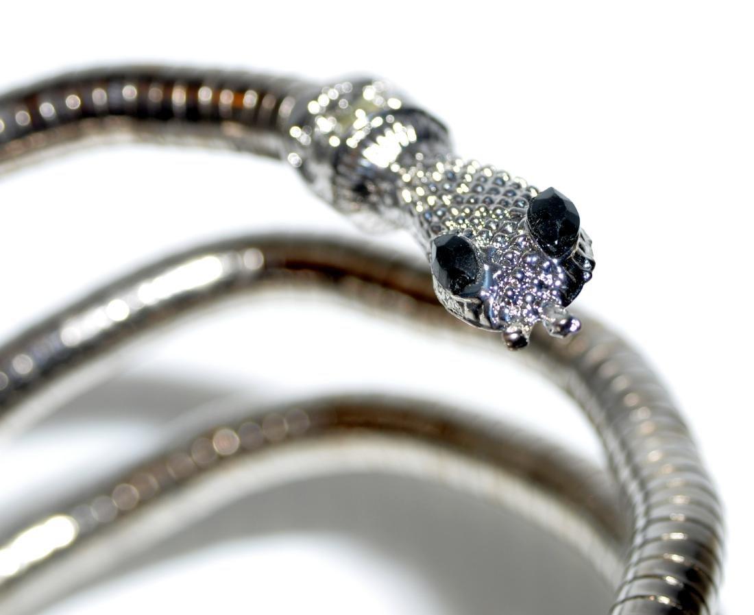 Bracelet necklace snake head jewelry - 3