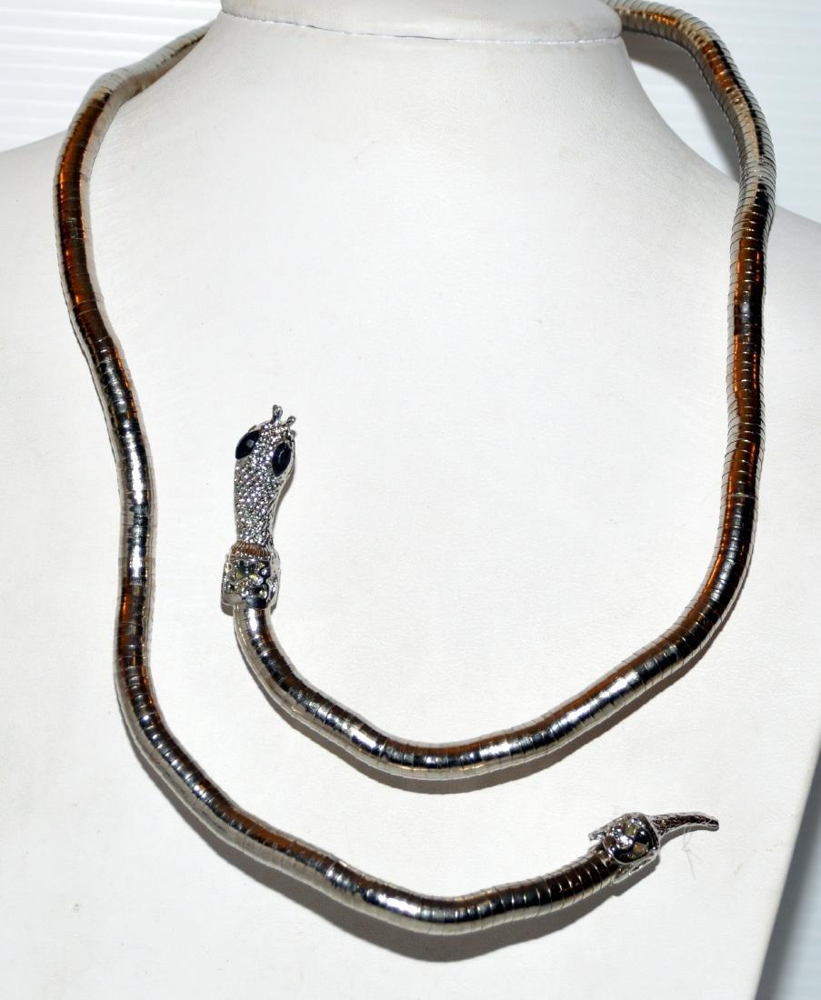 Bracelet necklace snake head jewelry - 5
