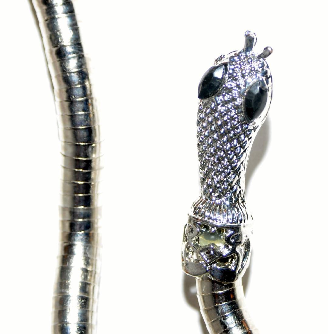 Bracelet necklace snake head jewelry - 6