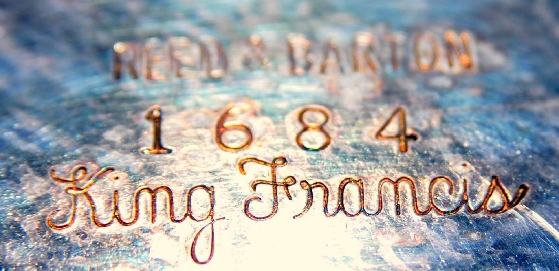 Reed Barton silverplate King Francis - 5