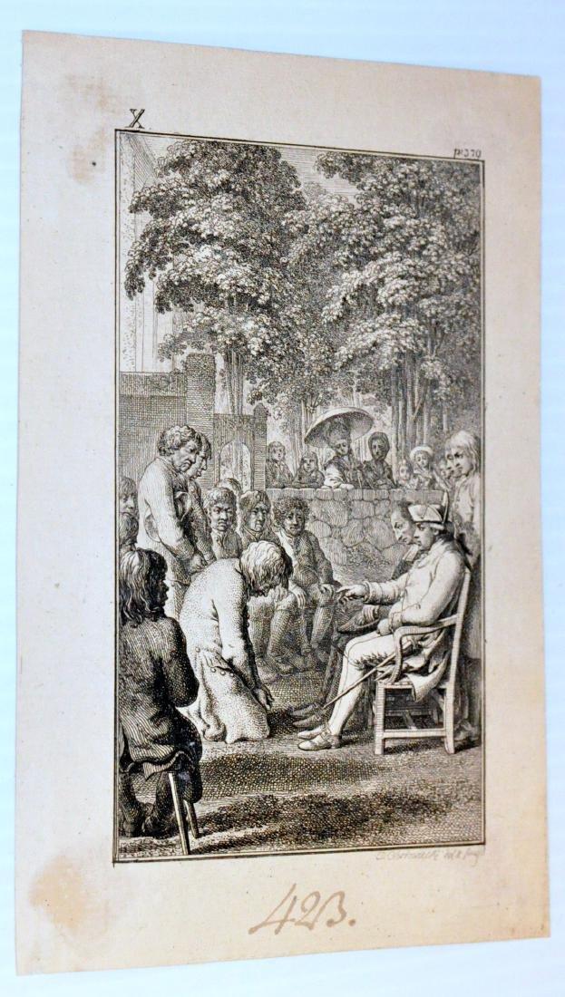 David Chodowiecki etching signed