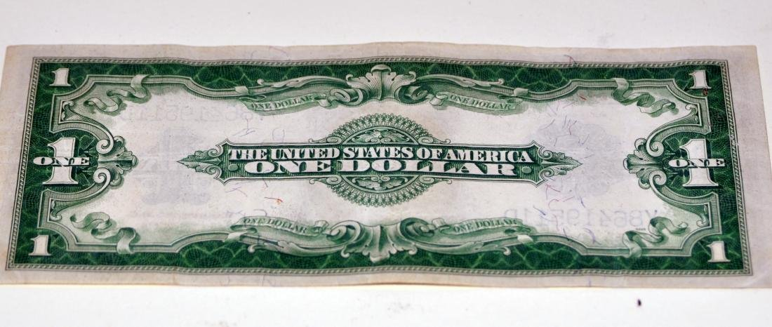 American US $1 silver certificate 1923