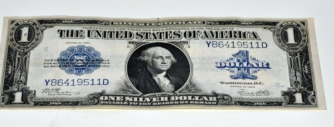 American US $1 silver certificate 1923 - 2
