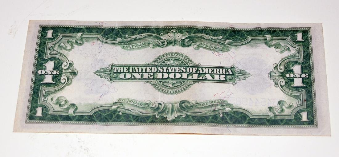 American US $1 silver certificate 1923 - 3