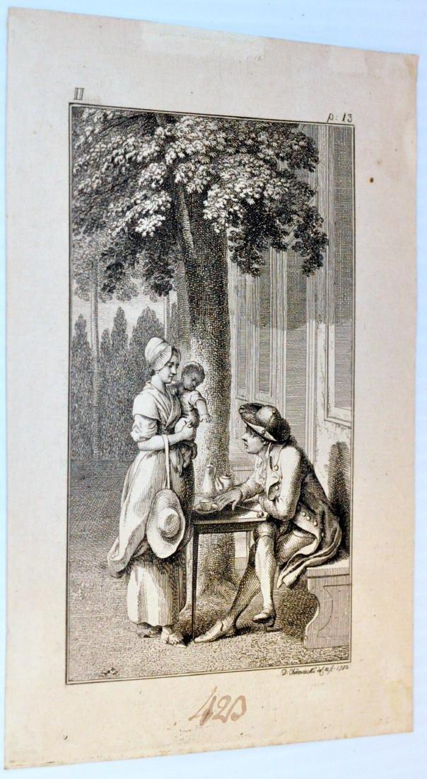 David Chodowiecki etching 1782