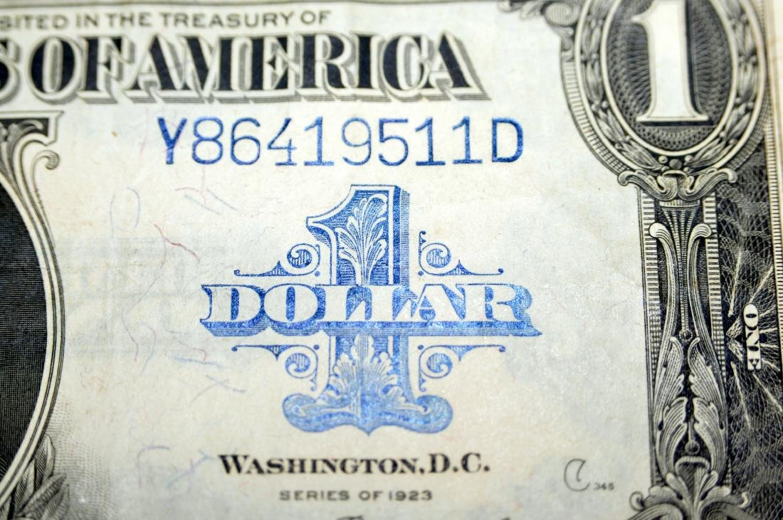 American US $1 silver certificate 1923 - 2