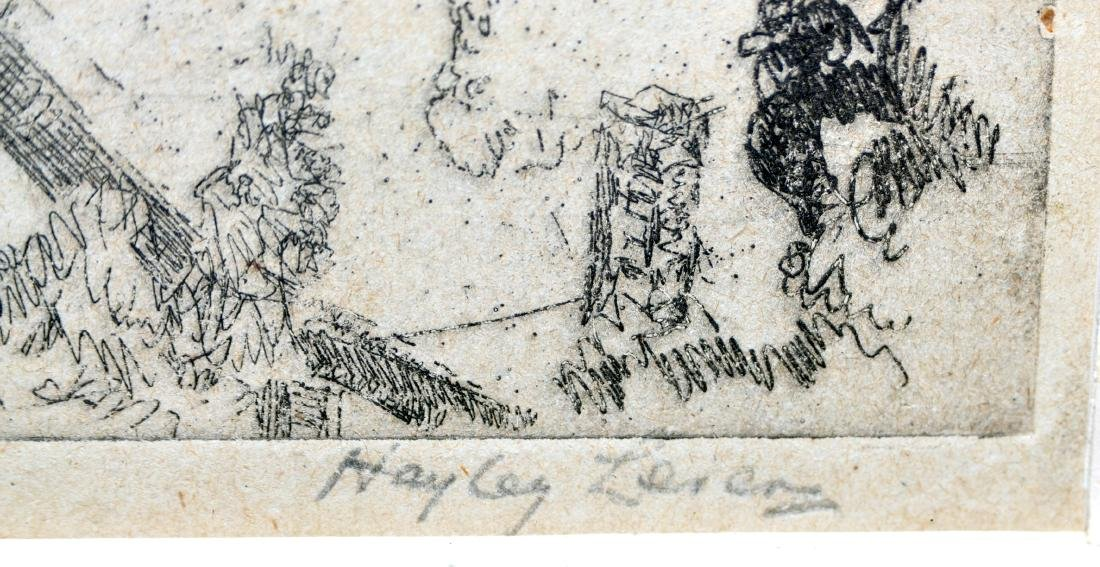 Hayley Lever etching Gloucester - 2