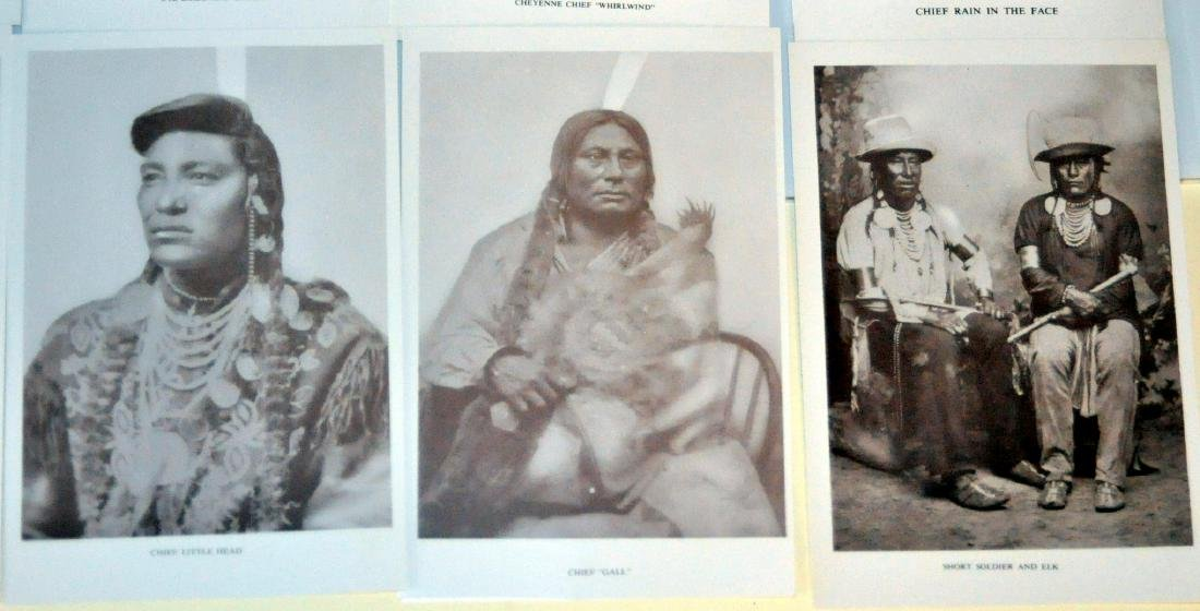 American Indian postcards chiefs - 4