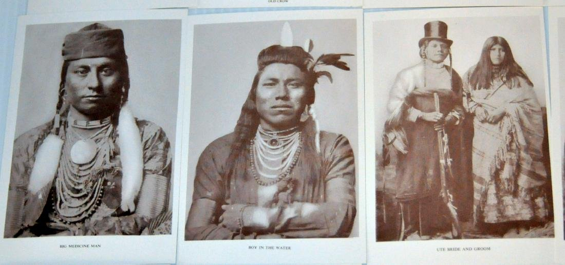 American Indian postcards chiefs - 6