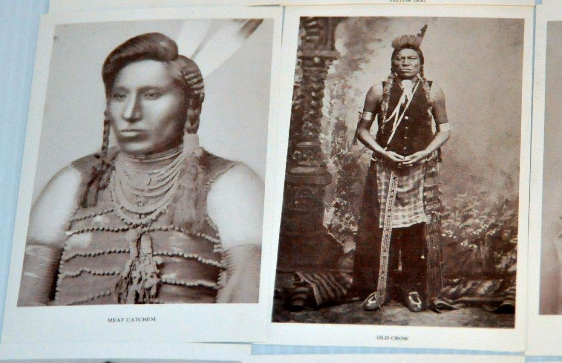 American Indian postcards chiefs - 7