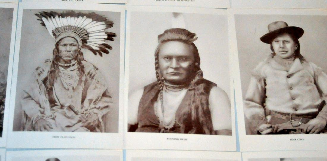 American Indian postcards chiefs - 8
