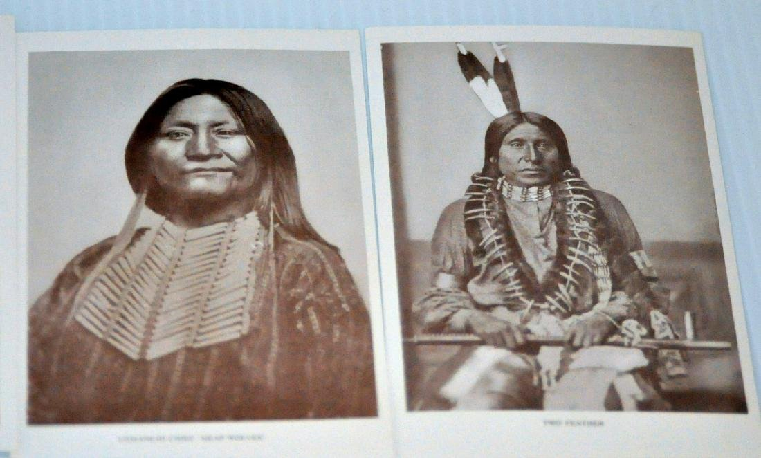 American Indian postcards chiefs - 9