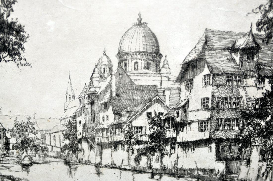 Fritz Botel etching 1920 - 2