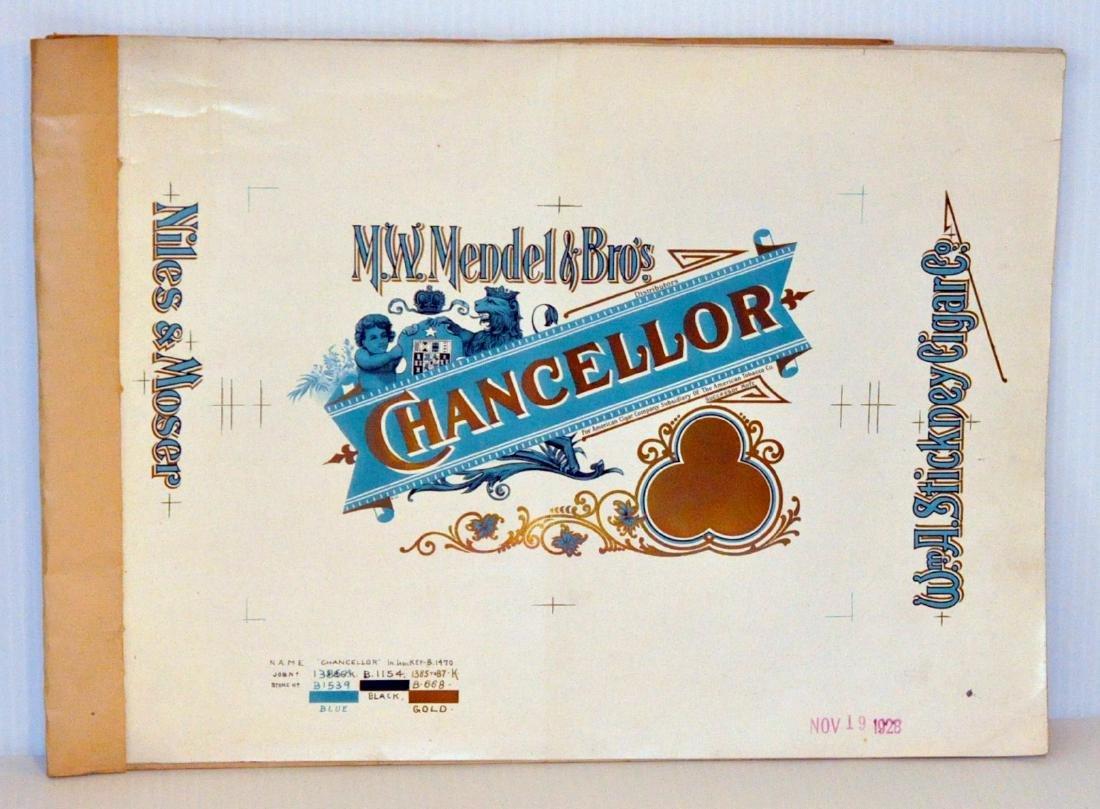 Progressive proof cigar label