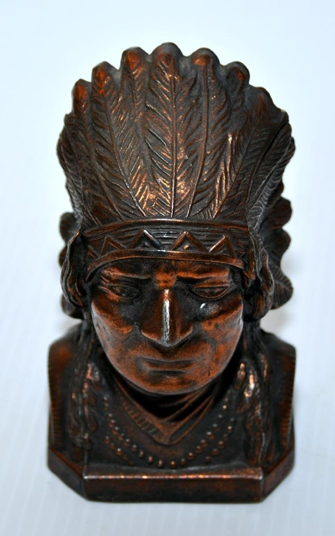 Indian chief bank , Lion bank vintage - 2