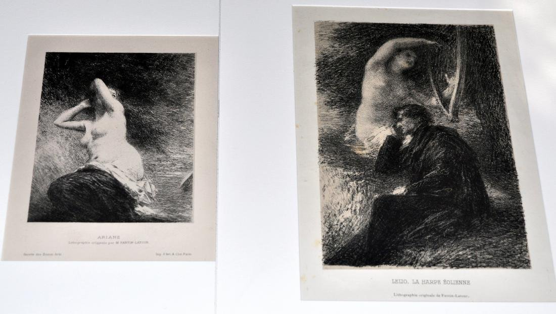 2 lithos - Henri Fantin- Latour