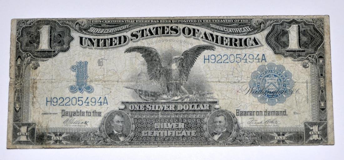 American US $1 silver certificate