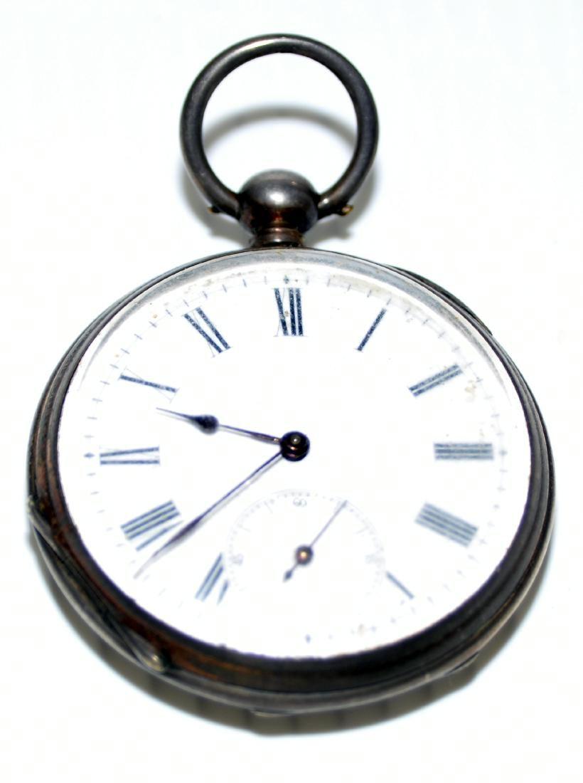 Vintage pocketwatch silver key wind