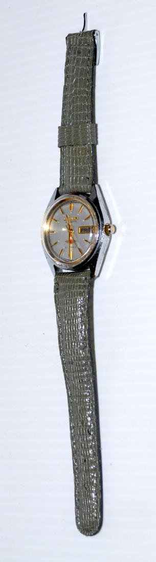 Citizen auto wristwatch 21 j day date