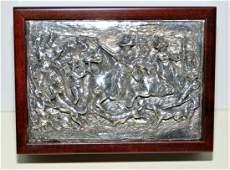 Winograd sterling dresser box signed