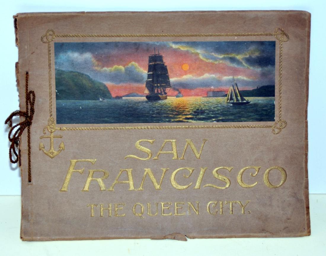 San Francisco 1914 book Souvenir