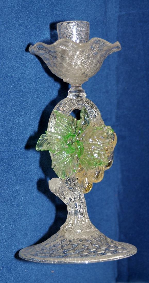 Murano Italian  candle holder - 5