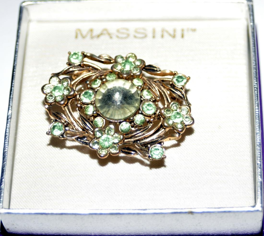 Vintage costume pins Massini - 2