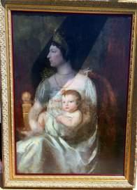 Napoleon Bonaparte Josephine oil on canvas