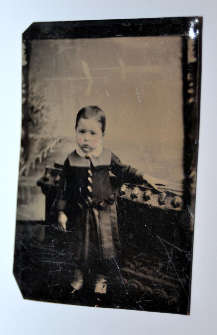 Tintypes Civil war era children - 2
