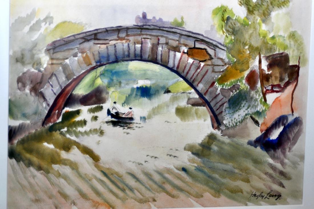 Hayley Lever watercolor Central Park NYC - 2