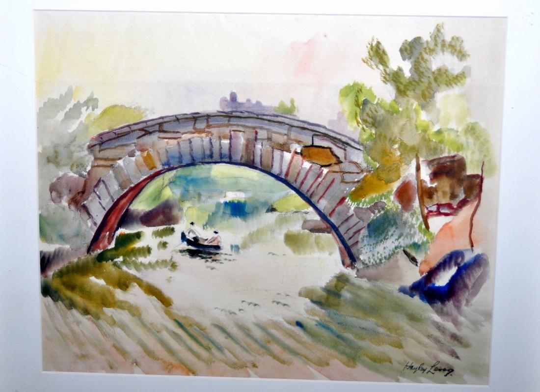 Hayley Lever watercolor Central Park NYC - 4