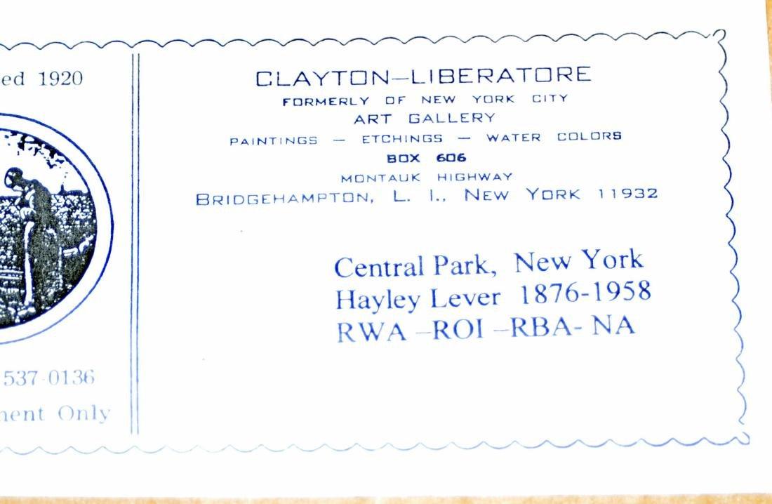 Hayley Lever watercolor Central Park NYC - 6